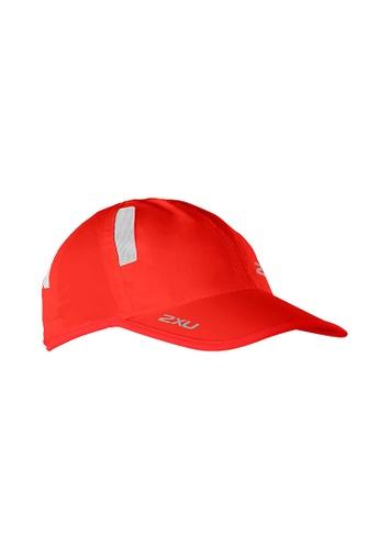 2XU red Unisex Run Cap 2X697AC2VMJJHK_1