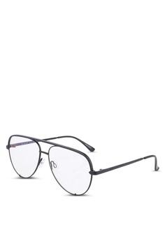 2d351787a74b Quay Australia black High Key Mini Glasses D45E7GLB2F394CGS 1