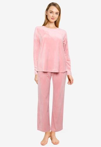 Vero Moda pink Sannah Nightwear Set 77730AA23610F0GS_1
