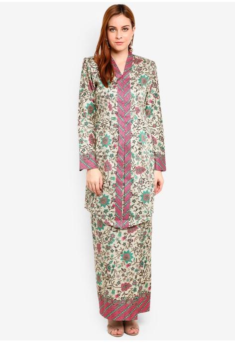 Fashion Bayi Gaun Bermotif Bunga Yang Cantik With Kardigan Baju ... 5134ca9c54