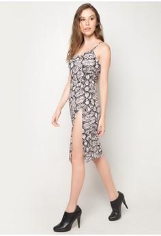 Jaida Snake Princess Dress
