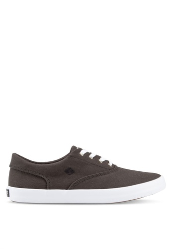 Sperry black Vulcanized Wahoo Cvo Saturated Sneakers SP132SH66SXXMY_1