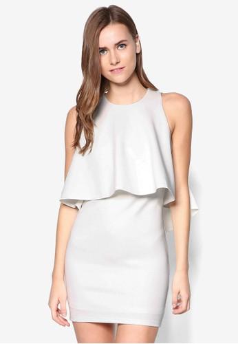 層疊貼身洋裝,zalora 心得 ptt 服飾, 洋裝