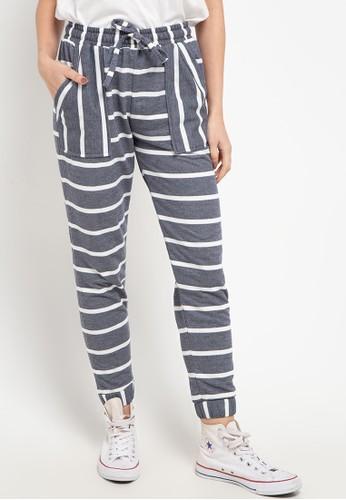 Magnificents Ladies multi and grey Sweatpants Striped 2DABDAA0D2137CGS_1