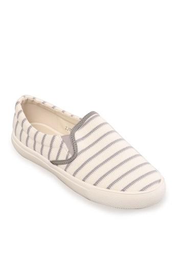 Minarno grey Women Grey Fabric Slip-On MI641SH35RZCID_1