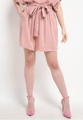 Ans.Ein pink Relax Shorts Blossom DECCCAAE86DAA9GS_1
