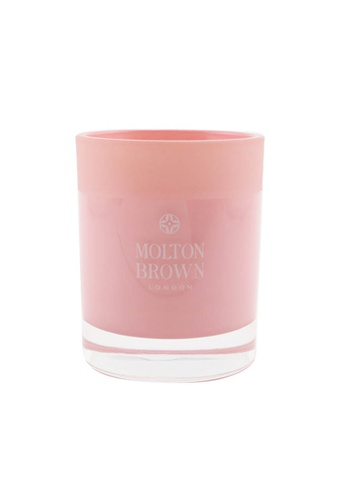 MOLTON BROWN MOLTON BROWN - Single Wick Candle - Delicious Rhubarb & Rose 180g/6.3oz AE4DCHL376C872GS_1
