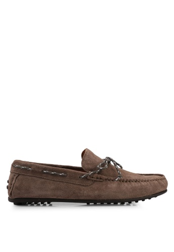 Selected Homme Moccasins - walnut gwtGl0