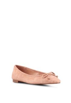 b5eca81c31c9 65% OFF Mango Bow Leather Ballerina Flats RM 177.90 NOW RM 61.90 Sizes 36  37 38 39 40