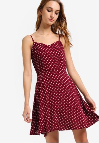 WV Krissy 細zalora 衣服尺寸肩帶洋裝, 服飾, 洋裝