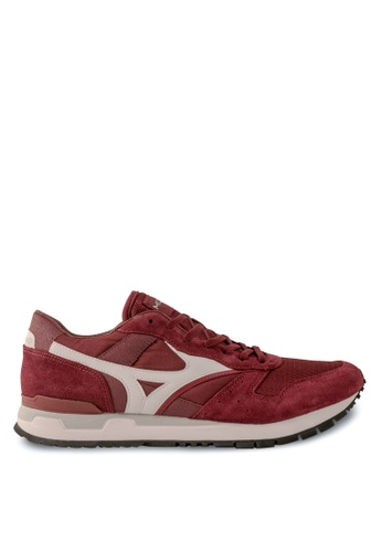 Mizuno red GV87 Lifestyle Shoes MI461SH81EDQHK_1