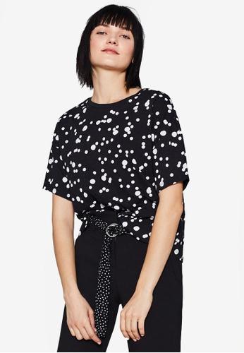 ESPRIT black Short Sleeve Regular T-Shirt 9A555AA42C6B42GS_1