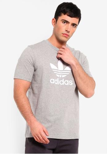f04273727de adidas grey adidas originals trefoil t-shirt C69E5AA05E1D72GS 1. CLICK TO  ZOOM