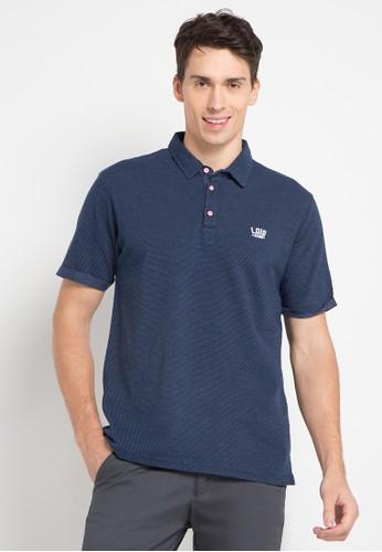 Lois Jeans navy Polo Shirt LO391AA0U4QIID_1