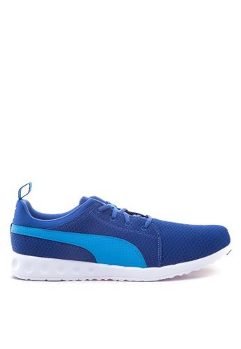 Puma blue Carson Mesh Running Shoes PU758SH93TTAPH_1