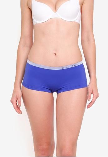 Calvin Klein white Boyshort Panties - Calvin Klein Underwear 986C3US8AA460BGS_1