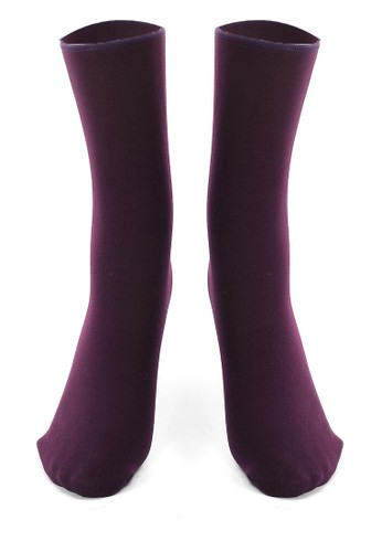 Hamlin purple Hamin Seish Kaos Kaki Pria Wanita Snow Socks Casual Footwear Material Wool ORIGINAL 62A72AA0DC400DGS_1