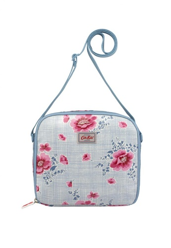 Cath Kidston blue Henley Bloom Mini Lunch Bag A025CAC24F2BCBGS_1