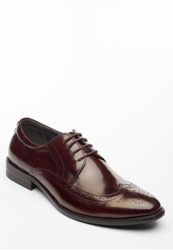Kings Collection red Merz Wingtip KI877SH41HFIPH_1