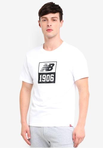 New Balance 白色 Lifestyle Essentials 1906 T恤 6EEEDAAF122D0DGS_1