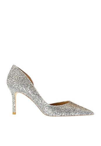 Twenty Eight Shoes 銀色 單邊通幫閃片晚裝及新娘鞋 VP88621 422D0SHAB2B07FGS_1