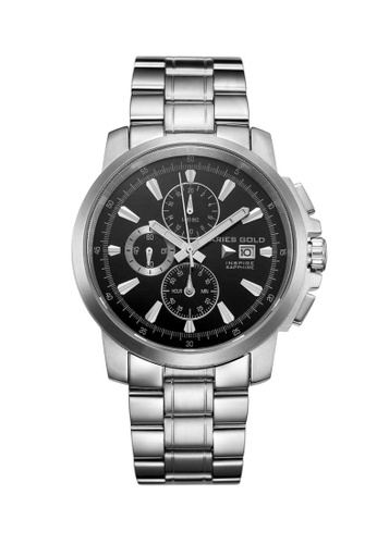 Aries Gold silver Aries Gold Inspire Contender Silver Watch E2338AC04B3FEAGS_1