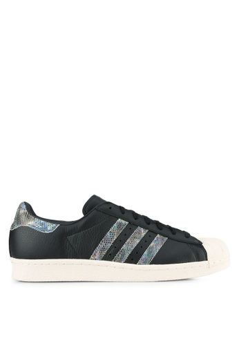 adidas black adidas originals superstar 80s AD372SH0S844MY_1