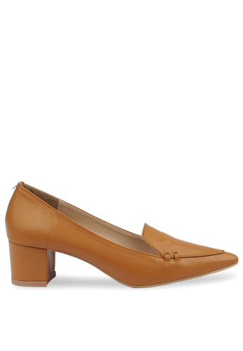 CLAYMORE brown Claymore Mid Low Heels  MZ - 1738  Tan E0D9BSHF795069GS_1