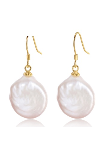 A.Excellence white Premium White Pearl Elegant Earring 17902AC93A23DFGS_1