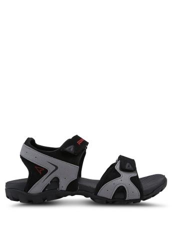 Power grey Athletic Core Sandals 2D3A3SH9A56046GS_1