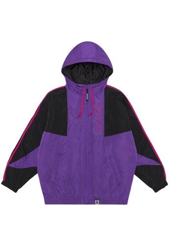 Fingercroxx purple Two tone jacket 884CFAAE4419B3GS_1