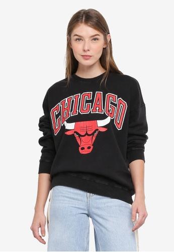 TOPSHOP black Bulls Sweatshirt By Unk X Topshop B5C59AAAB78561GS_1