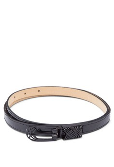 One-Colour Skinny Belt