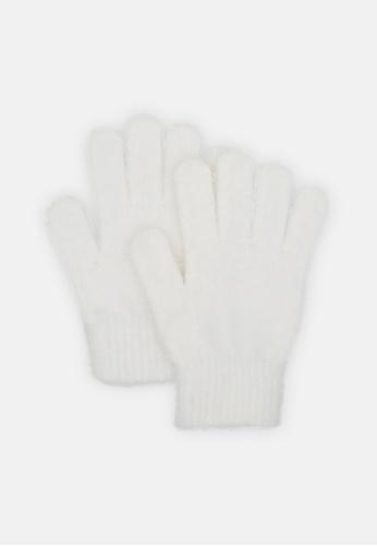 London Rag white Hand Gloves E1979ACBD5919AGS_1