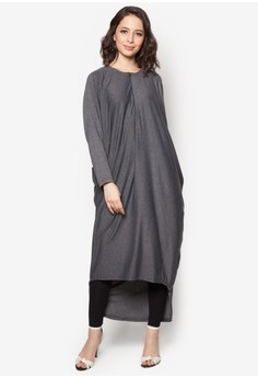 Batwing Sleeve Dress