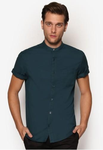 老爺領牛津短袖襯衫、 服飾、 襯衫BurtonMenswearLondon老爺領牛津短袖襯衫最新折價