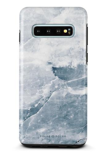 Polar Polar grey Icy Samsung Galaxy S10 Dual-Layer Protective Phone Case (Glossy) 4FC66AC83DF9A4GS_1