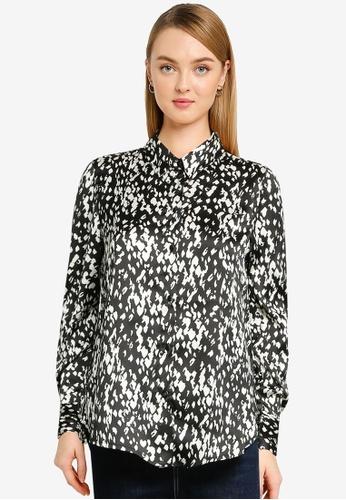 Vero Moda black Becky Long Sleeve Shirt 925F8AA2295C0DGS_1