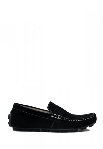 D-Island black D-Island Shoes Slip On Lacoste Suede Black A71A8SH2D9E344GS_1