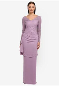3e505b7d4c63 NH by NURITA HARITH purple Bella Kurung Modern 68DA3AA4DAB683GS 1