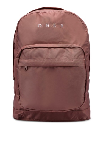 OBEY 紫色 Drop Out Backpack 4E2CEACD1EA371GS_1