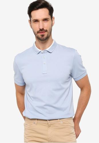 BOSS blue Penrose 17 Polo Shirt 9F3D6AAC6E94DCGS_1