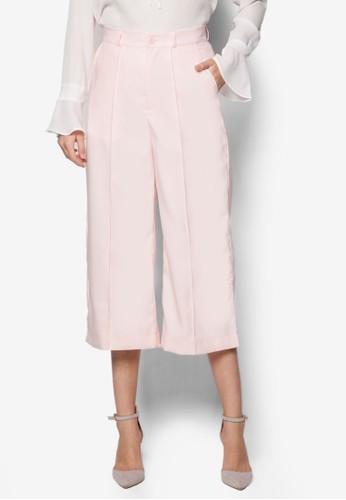 Delia 寬esprit旗艦店管七分褲, 服飾, 知性女強人