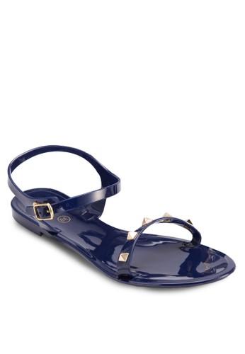 鉚釘果凍涼鞋, 女鞋, esprit tw鞋