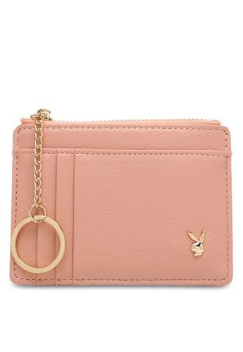 PLAYBOY BUNNY pink Ladies Coin & Card Holder 8CDA9ACC316C06GS_1