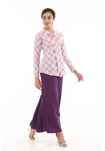 Amar Amran purple Kebaya Midi Batik Moden 27145AA666A813GS_1