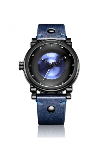 Assassin's Time blue Assassin's Time GEMS Blue Leather 61F57AC0B589BAGS_1