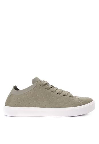Native brown Monaco Low Sneakers NA764SH0JR6MPH_1