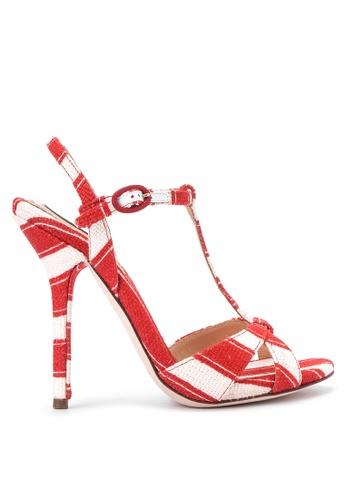 6dc6d5d399e Shop Dolce   Gabbana Heeled Sandals Online on ZALORA Philippines