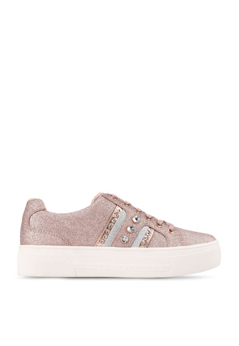 Call It Spring gold Perfekt Embellished Sneakers 46566SHD020985GS_1